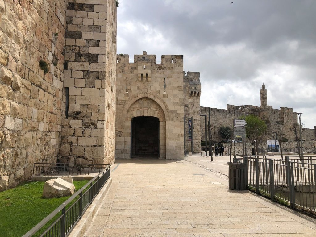 Jaffa Gate tour guide
