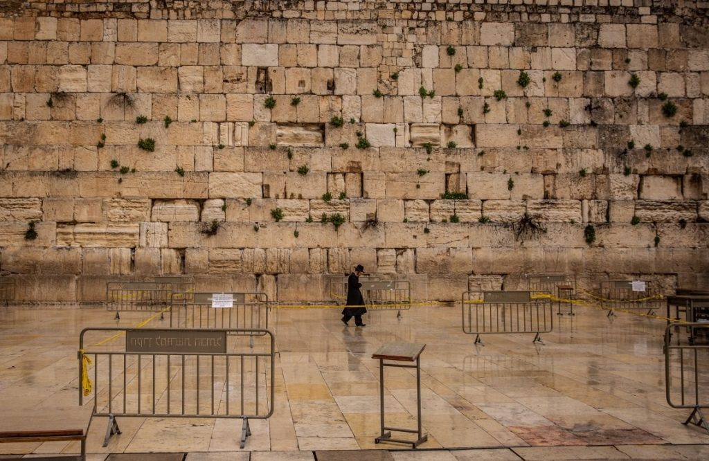 western wall tour guide