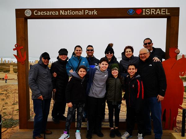 Caesarea Family Trip