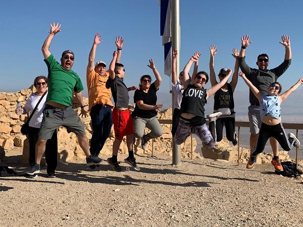 Dead Sea Bar Mitzva Trip