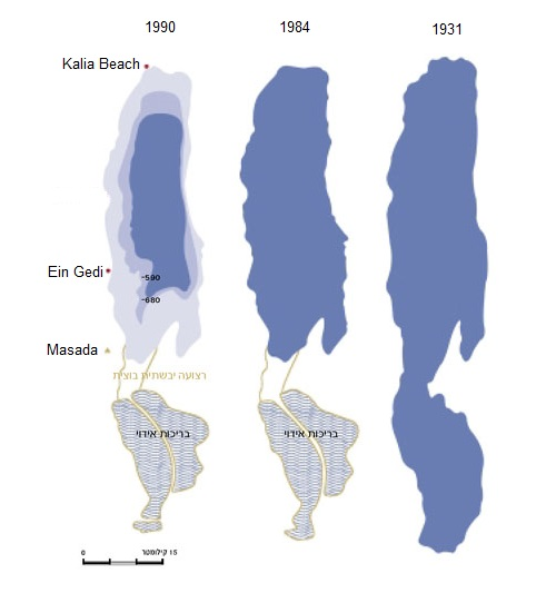 The Dead Sea is in Danger